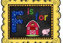 F is for Farm / by The Teaching Resource Resort