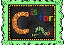 C is for Caterpillar / by The Teaching Resource Resort