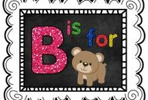 B is for Bear / by The Teaching Resource Resort