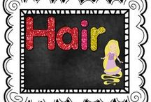Hair / by The Teaching Resource Resort