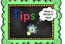 Tips / by The Teaching Resource Resort