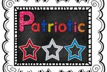 Patriotic / This board is for free and priced items and ideas related to all patriotic holidays including Fourth of July, Memorial Day, Veteran's Day, President's Day, etc... / by The Teaching Resource Resort