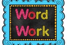 Word Work / This is a collaborative board for pins related to Word Work.  Word Work is student-centered work that helps students gain knowledge, understanding, and love of words.  I am particularly interested in work that supports the Daily 5 format :)  If you are interested in joining this board, please e-mail me with your Pinterest user name: dawndelz@gmail.com.  Happy pinning!  / by The Teaching Resource Resort
