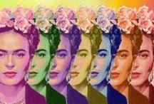 Frida Kahlo / Frida addicts unite! / by Mexico Import Arts