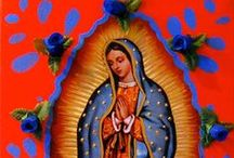 Guadalupe !! / Tonantzin...Guadalupe...mother earth.  / by Mexico Import Arts