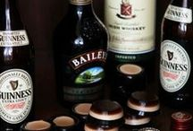 Whiskey and Gin Jello Shots