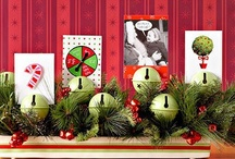 Christmas Card Display Ideas / Now that the holiday cards are starting to roll in, how will you display them? Here are some creative ways to hold and display your greeting cards this year.