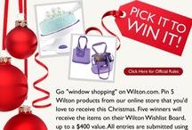My Wilton Wishlist / #wiltoncontest  / by Khandra Henderson