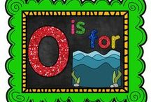 O is for Ocean / All things related to the ocean/sea.   / by The Teaching Resource Resort