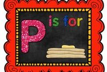 P is for Pancakes / by The Teaching Resource Resort