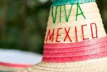 Viva México! / Independence Day in Mexico. / by Mexico Import Arts