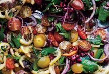 food and wine - salads