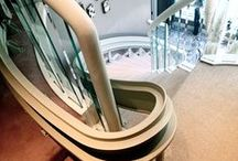 Bruno Curved Indoor Stairlifts / Bruno Curved Stairlifts are the global gold standard, featuring made-in-America quality, reliability and craftsmanship not found in any other stairlift.   Visit www.Bruno.com for more information!