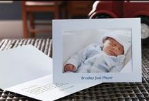 Birth Announcements / Ideas for stunning, elegant birth announcements and newborn photography. Photo insert cards can be found at www.studiostyle.com