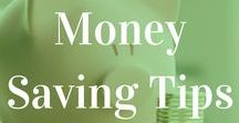 Best Frugal Living/Saving Money Tips / Here are my favorite and best tips for frugal living and saving money.