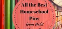 All Homeschool Pins from Heidi Naturally / Here is a collection of all the homeschool pins from my websites - www.heidinaturally.com and www.homeschool-how-to.com. They include all the best homeschooling tips, ideas, homeschool curriculum reviews and more.