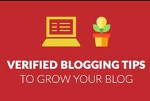 Verified Blogging Tips To grow your Blog / Have a blog & wondering how you can get more traffic & increase your revenue? Join this amazing collection of blogging tips which is verified & tested to grow any kind of blog.   Do check out our other popular Pinterest boards.