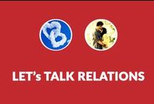 Let's Talk Relations / A PInterest board where we talk about love, relation, sorrow, sadness, romance and Life...
