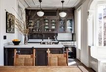 Kitchens / Places to cook and eat in style.