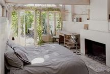 Bedrooms / Cozy and quiet or bright and invigorating, bedrooms that invite rest and rejuvenation.