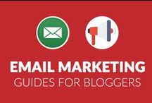 101+ Email Marketing Guides for Bloggers / Get the best email marketing guides, tips & tutorials which would make your blog a lead generation machine. Get tutorials from #Aweber #Getresponse #Mailchimp #Leadpages to name a few.
