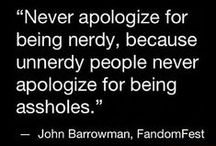 Pardon my geek!