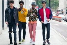 Street Style / Inspirational examples of street fashion, festival clothes and beauty trends.