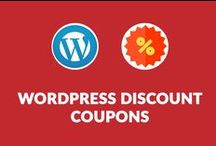 WordPress Discount Coupons / Various WordPress Discount Coupons, which will help you to save money on products, which are useful for WordPress Blog.