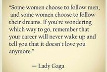 Women I admire / Youtubers, actresses, writers, etc. that I love and admire for different reasons.