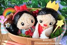 My bento and kyaraben (character bento) creations / Kyaraben (character bento) is a elaborately arranged and decorated japanese packed lunches to feature cute characters and themes from popular culture.  #bento #obento #kyaraben #decoben