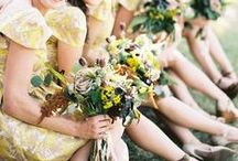 Yellow Wedding Palettes