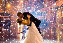 Winter Wedding Ideas / You've got love to keep you warm.