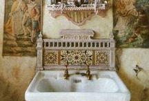 La Salle de Bain / Bathroom ideas.