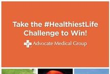 #HealthiestLife / How are you living your #healthiestlife? Show us your healthy inspirations for a chance to win! See details in pin below. / by Advocate Health Care