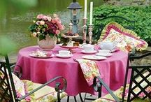 TABLE EN PLEIN AIR / Inspiration for magic moments...