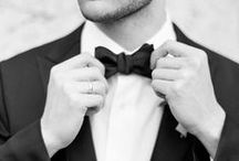 Dapper Gents / Swoon-worthy styles for the groom and his guys.