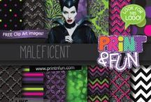 Maleficent Ideas / Party Ideas, Decoration, Costume, Make Up