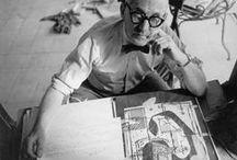 Le Corbusier - Dalani Magazine / Su Dalani Magazine il nostro omaggio al grande maestro dell'architettura del XX secolo, a cinquant'anni dalla scomparsa.  http://bit.ly/1Cuxc4e