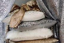 Glitter&Paillettes / Un living luccicante, per regalare un tocco brillante e femminile ad ogni vostro ambiente. Basta scegliere: Glitter o Paillettes?