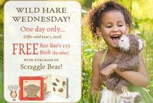 Wild Hare Wednesday - One Day Deal!