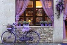 Sogni di lavanda / La fantasia ci porta in Provenza, accogliendoci in un casale immerso tra i fiori di lavanda. L'atmosfera perfetta per un relax  da favola.