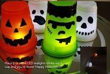 Idéer til Halloween / Her finner du flere idéer til Halloween; leker, mat, dekorasjoner m.m!