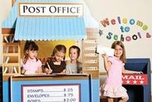 Postkontor i klasserommet