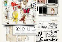 My Design / My digital scrapbook design