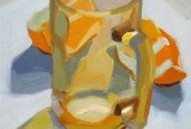 Paintings of Glassware and Dishes