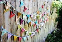 Wreaths, Banners & Mason jars / by Jennifer Wegwitz