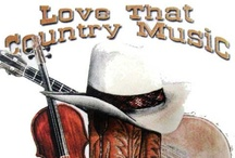 Country Music / by Betty Wesley