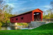 Covered Bridges / by Betty Wesley