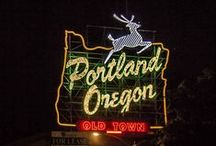 Visit Portland / Inspired by a trip my friends Liz & Anna might take.