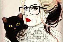 Cats & Tats / by Estephanie Acheson